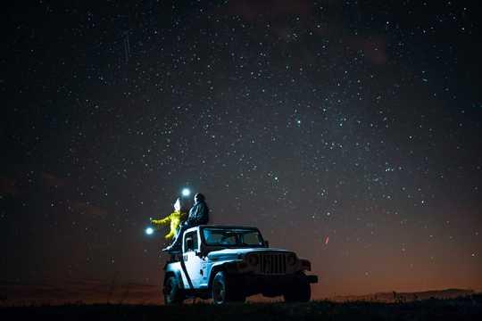 迷人的星空