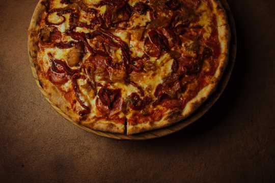 美味可口的披萨饼图片