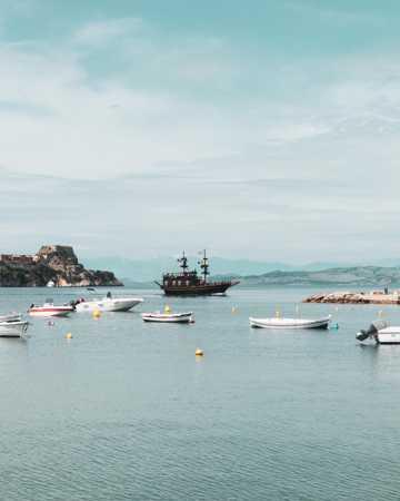 海上船舶风光图片