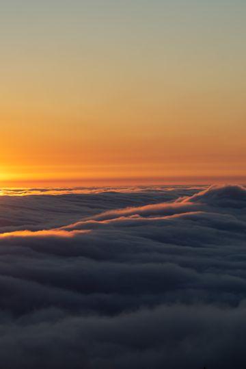 唯美的日出云海图片