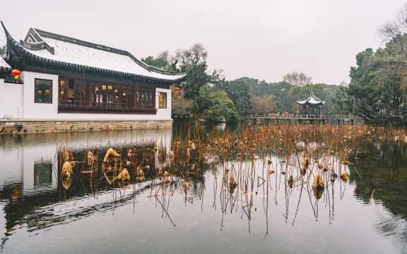 中国古典园林建筑图片