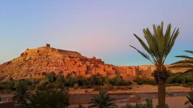 摩洛哥建筑光景