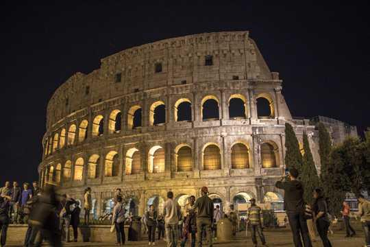 古老的罗马斗兽场图片
