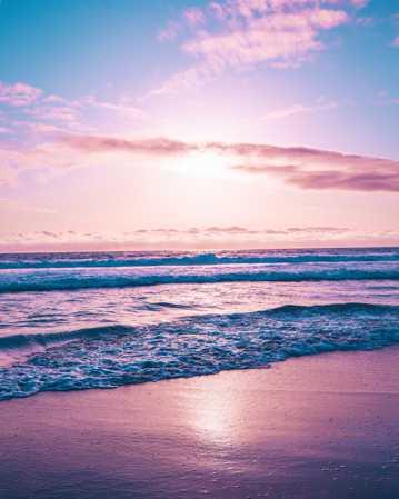 梦幻海洋唯美光景图片