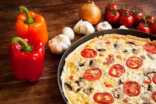 西餐披萨图片