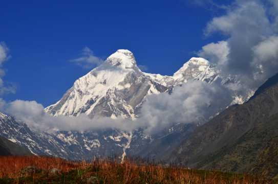 喜马拉雅山雪山图片