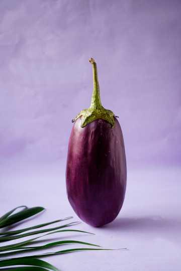 紫茄子图片