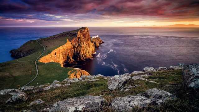 爱尔兰海岸风光