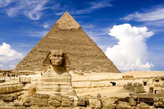 宏伟的金字塔