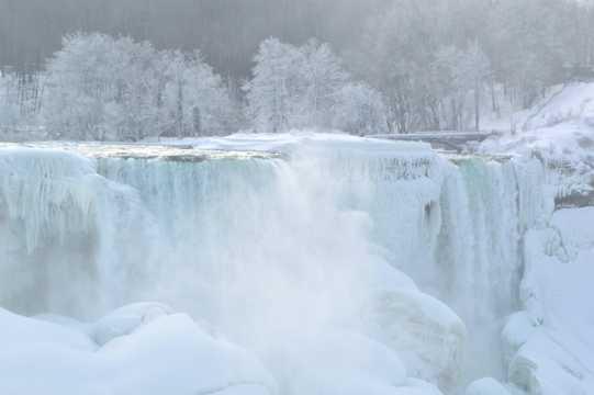 美国壮丽的尼加拉瀑布