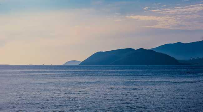 宁静的海中孤岛远景