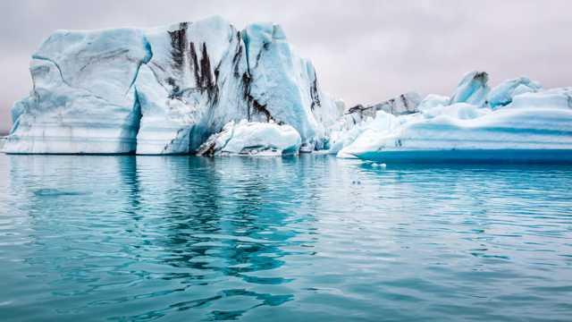冰川景色图片