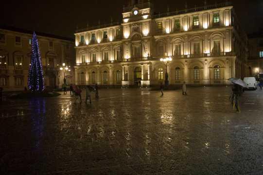 意大利西西里岛建筑景致图片