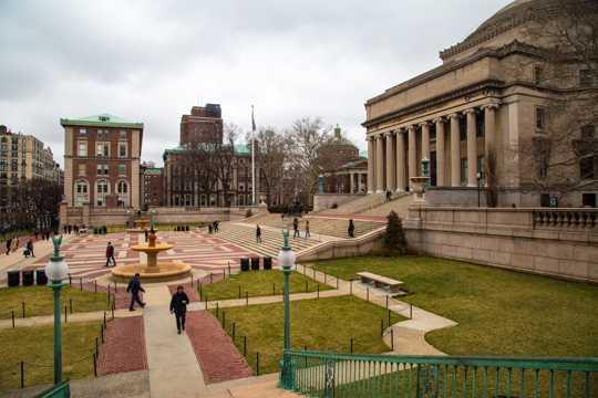 美国哥伦比亚大学景象图片