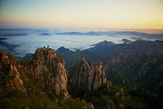 壮丽的安徽黄山
