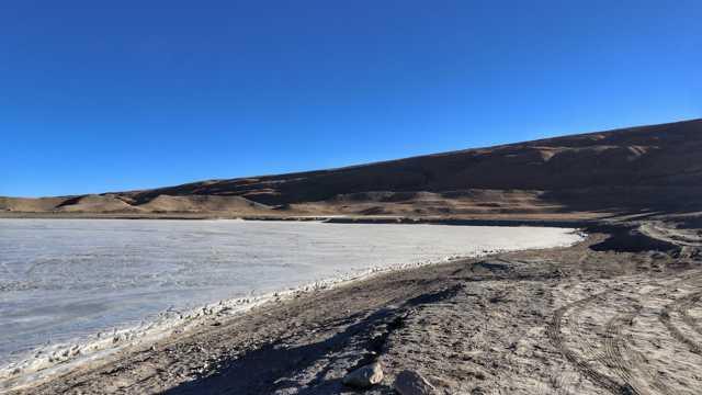 西藏普姆雍措风光图片