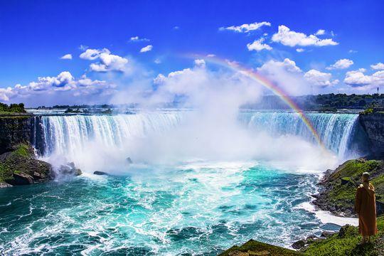 加拿大尼亚加拉瀑布风光