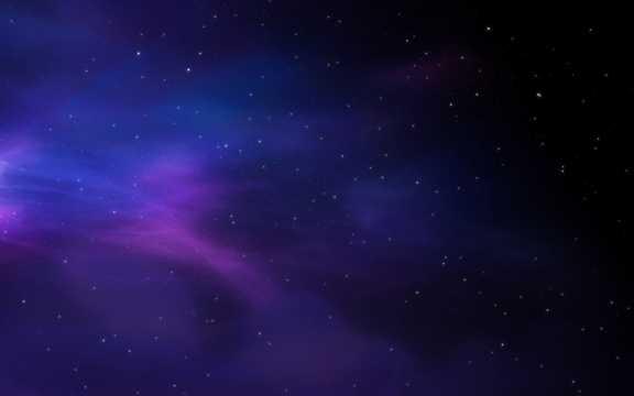 银河系夜空全景图片
