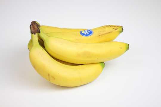 新鲜香蕉的高清图片