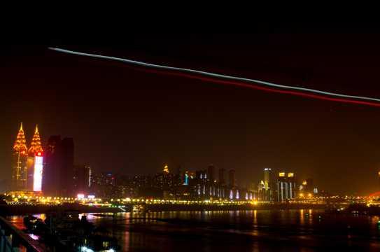 美丽的重庆夜景图片