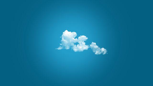 美丽的一朵云