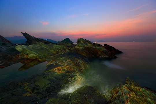 海南天涯海角日出景观