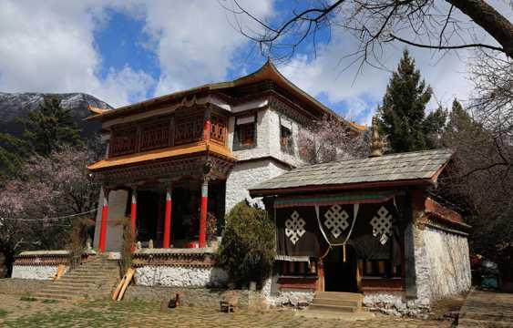 西藏措宗寺建筑景观图片